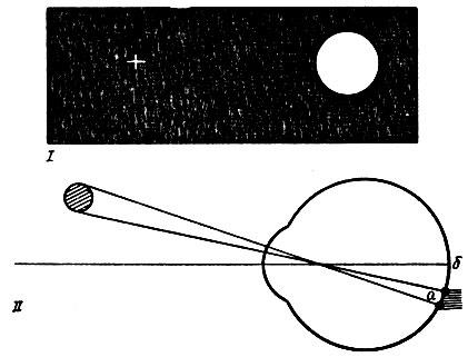 (I) и схема хода лучей